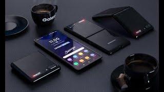 Сгибаемый смартфон Samsung Galaxy Z Flip в живую