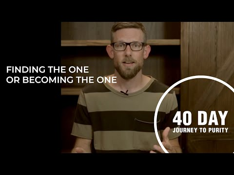 Finding The One Or Becoming The One // Nathan Edwardson