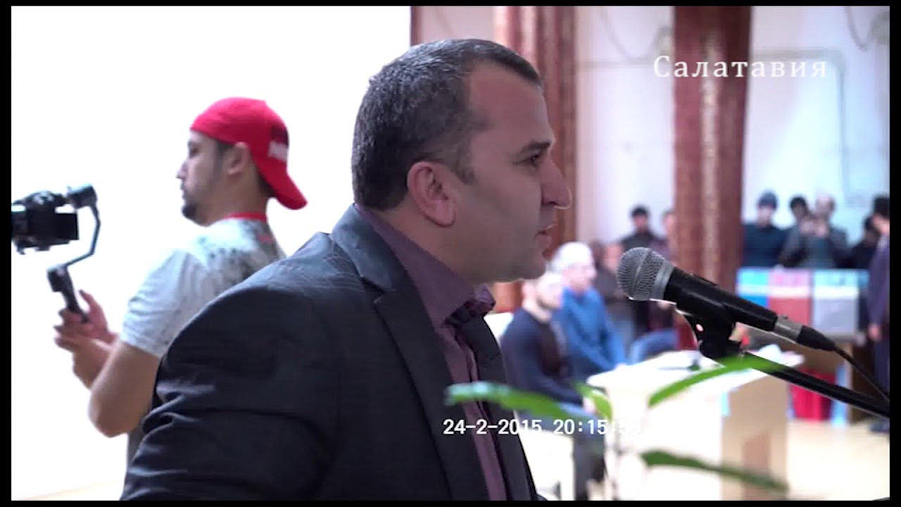 Хабиб Нурмагомедов в Казбековском районе