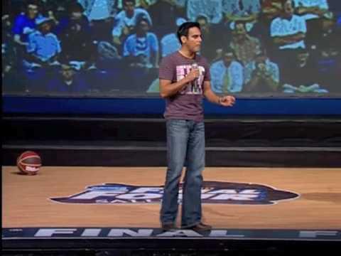 Motivational Youth Speaker Gabe Salazar NCAA Event