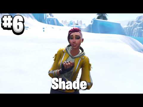 6 biggest butts skins reveal | Fortnite Battle Royale