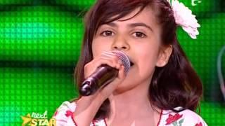 Daniela Rizea, 10 ani, din Poroschia, Teleorman, canta muzica populara