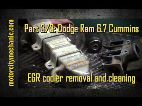 Part 3 3 Dodge Ram Cummins 6 7 Diesel Egr Cooler Removal