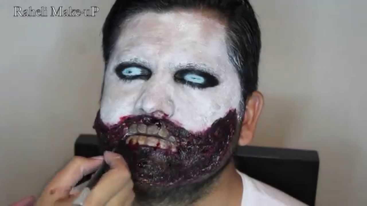 Maquillaje de Halloween Para Hombre YouTube
