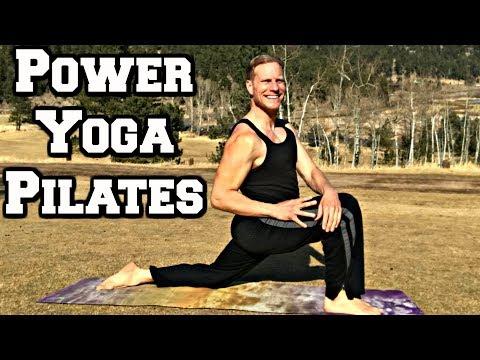 40 Min POWER YOGA + PILATES WORKOUT - Sean Vigue Fitness