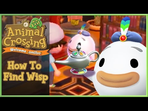 Animal Crossing New Leaf How To Get Wisp Magical Lamp