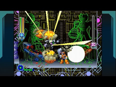 Megaman X5 100% (X) No Damage Completion Run