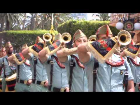 Legión Melilla - Banda Cornetas Tambores - Procesión Domingo Ramos