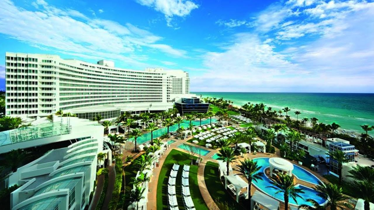 Fontainebleau Miami Beach Metropolitan Area Florida Usa 5 Star Hotel You