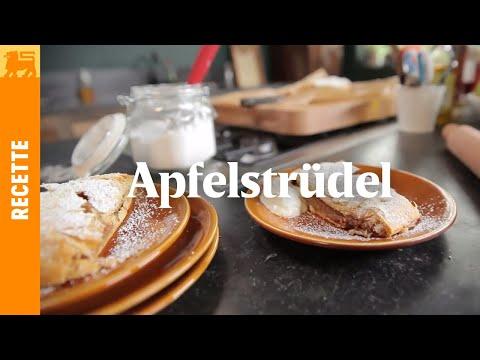 Apfelstrüdel