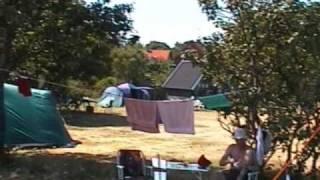Camping på Bornholm - Nexø Familiecamping - solskinsøen over dem alle