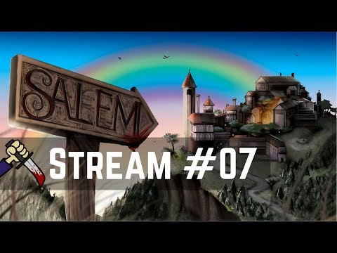 Night Nimdom Town of Salem! | Live Streamed 【Town of Salem】