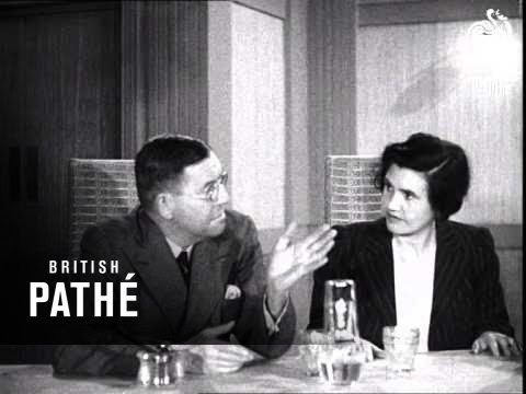 """The B.B.C. Brains Trust Answering """"Any Questions?"""" - Reel 3 (1945)"""
