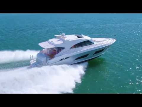 First glimpse of the stylish new Riviera 4800 Sport Yacht – World Premiere