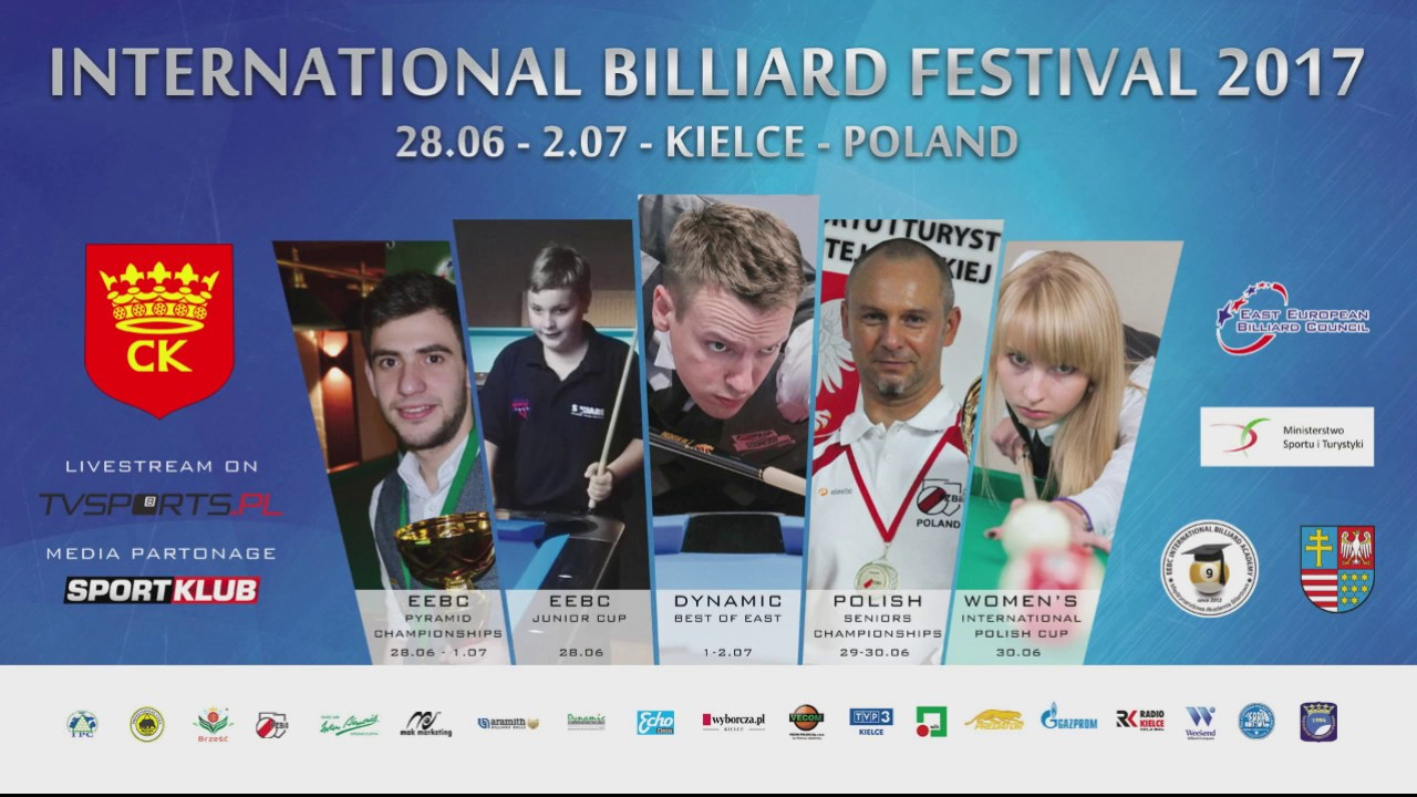 International Billiard Festival 2017 – Dynamic Best of East – Fortuński – Szaszor