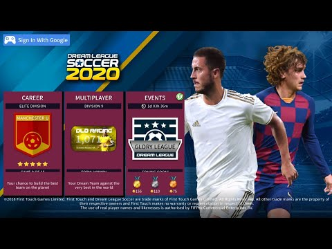 NEW UPDATE, Dream League Soccer 2020 Edition Android Offline 350mb Best  Graphics