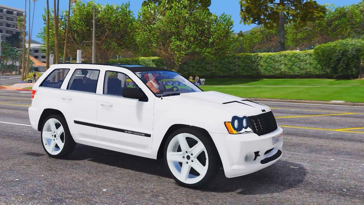 2010 jeep grand cherokee srt8 gta v mod 2 7k 1440p