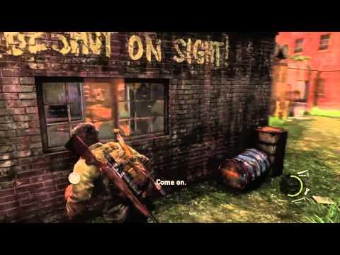 The Last Of Us Bills Trap Skip No Sprint!