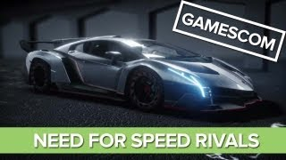 Need for Speed Rivals Gameplay: Undercover Cop Reveal, Gamescom 2013