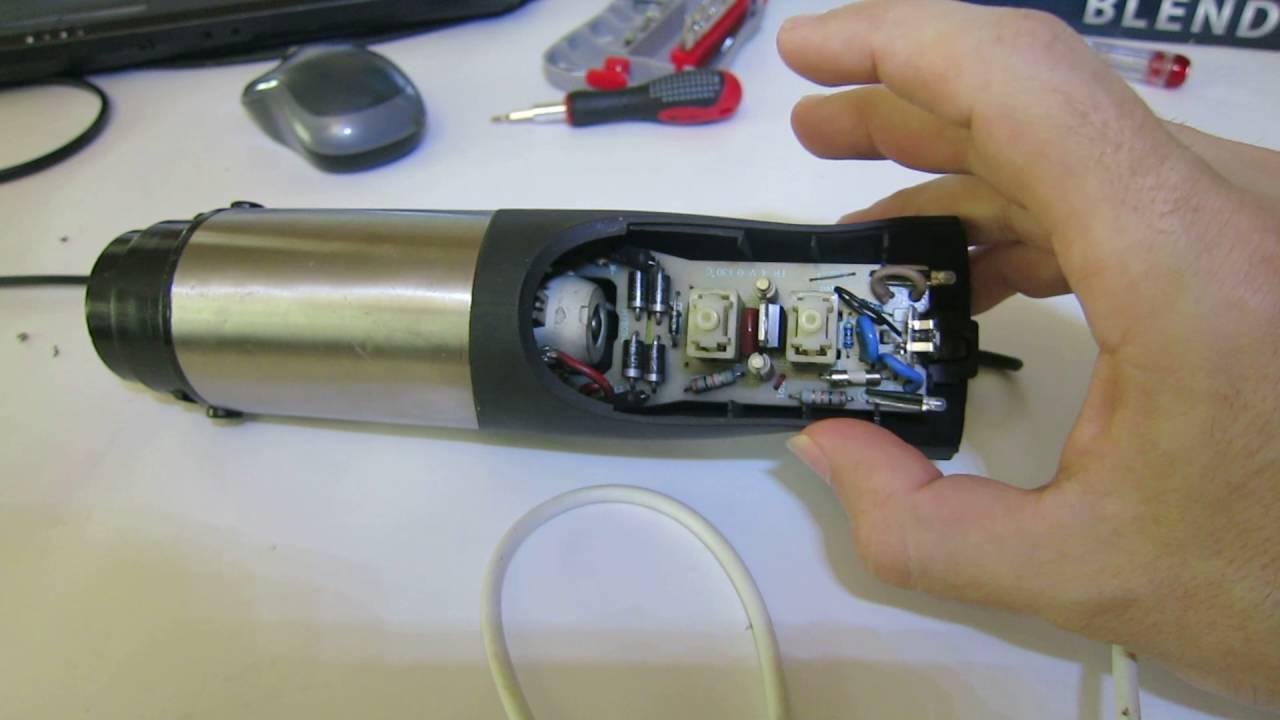 Ремонт блендера Сатурн. Видео № 1  Такой ремонт подходит для блендера любой марки.