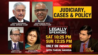 Legally Speaking- Justice A.K Sikri speaks on Judiciary, Cases & Policy | NewsX