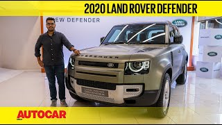 2020 Land Rover Defender - Welcoming the iconic SUV to India | First Look | Autocar India