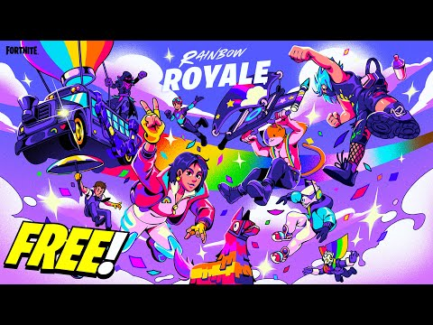 Fortnite Gave Us a FREE ITEM SHOP for Rainbow Royale!