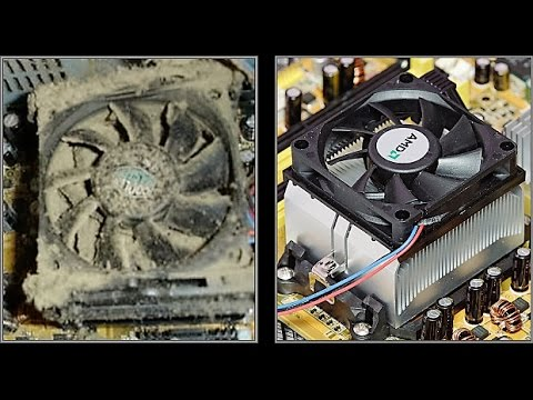 How To Clean The Fan On An Acer Aspire 5600U All In One Computer