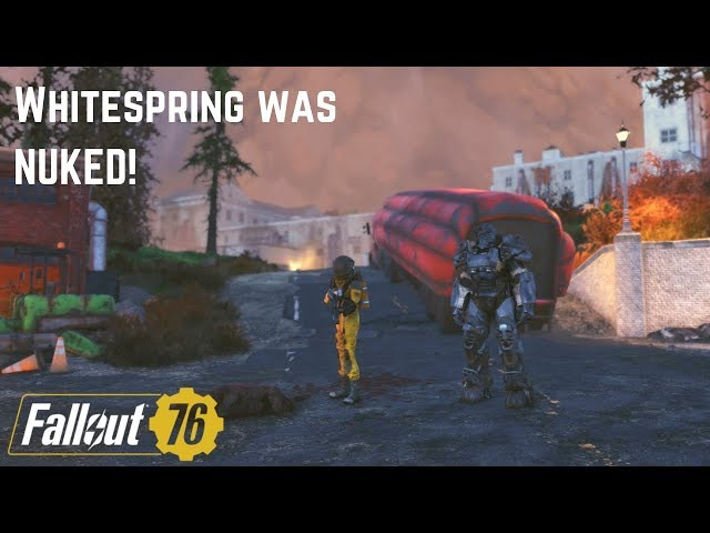 Nuclear Whitespring Resort Exploration! Fallout 76