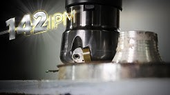 Beast Cutting Inconel 24X FASTER Than Carbide Insert Shell Mills