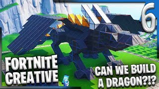 CAN WE BUILD A DRAGON?! | Fortnite Creative Gameplay/Let's Play E6