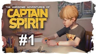 THE AWESOME ADVENTURES OF CAPTAIN SPIRIT [Folge 1] - Captain Spirit