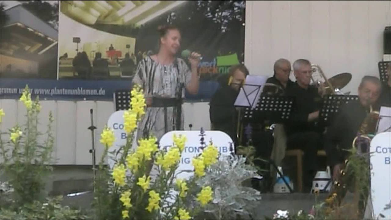 Die Cotton Club Big Band Sunny Side Of The Street Live In Planten