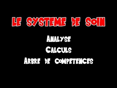 FOCUS: Le Système de SOIN (Analyse de son fonctionnement, Calculs, Compétence...)