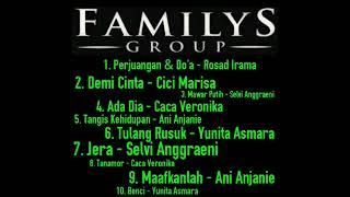 Kumpulan lagu dangdut FAMILYS Group cocok untuk musik layar tancap