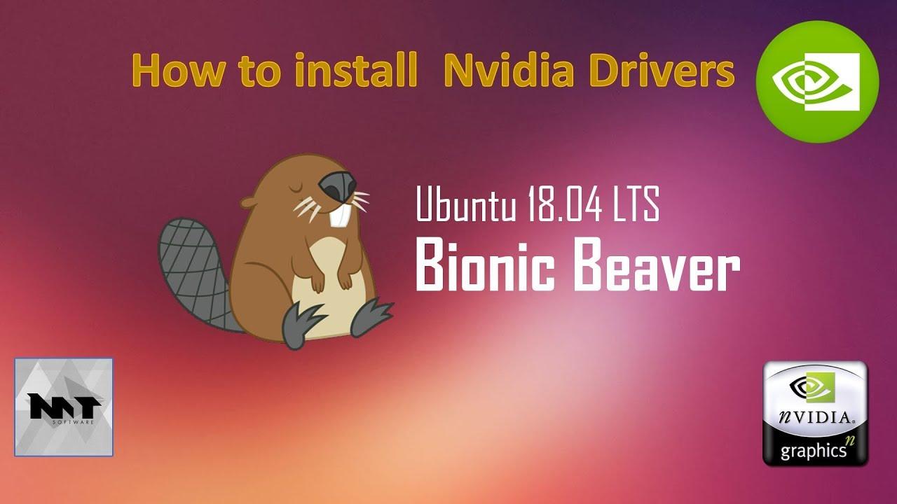 How to install Nvidia Drivers on Ubuntu 18 04