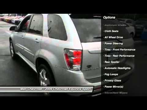2009 Chevrolet Equinox Sport Cherry Hill NJ 08003. Betty Mall