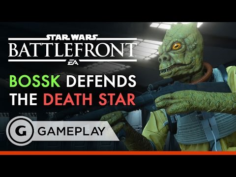 Bossk the Bounty Hunter- Star Wars Battlefront: Death Star DLC Gameplay