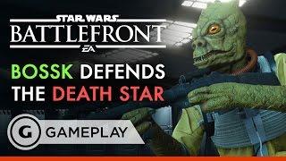 Bossk the Bounty Hunter- Star Wars Battlefront: Death Star DLC Gameplay