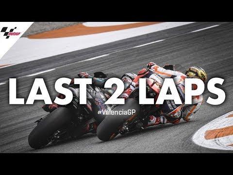 Last 2 laps of the 2019 #ValenciaGP!