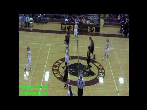 MPCHS Girls Varsity Basketball vs. Fort Madison 1/27