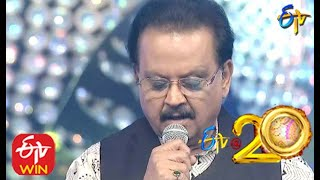 SP Balu and Kalpana Performs - Andela Ravamidi Song in ETV @ 20 Years Celebrations - 9th August 2015