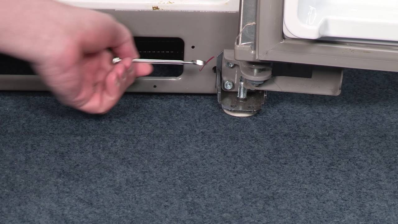 How To Level A Kenmore Refrigerator How To Level Your Refrigerator Youtube