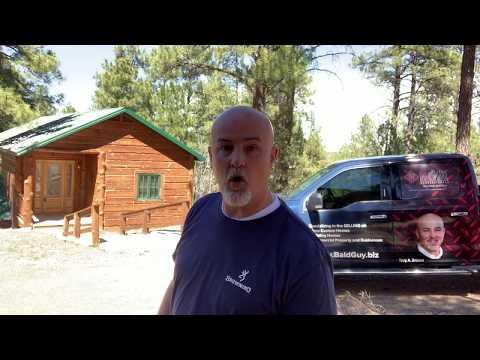 Log Cabin In Show Low AZ Mountains For Sale