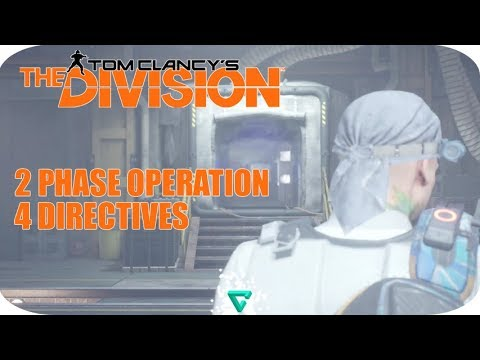2 PHASE OPERATION, 4 DIRECTIVES - The Division Underground [NO COMMENTARY]