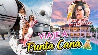 VACACIONES EN PUNTA CANA!!✈ ARRUINÓ MI CABELLO!!😱 | Camila Guiribitey