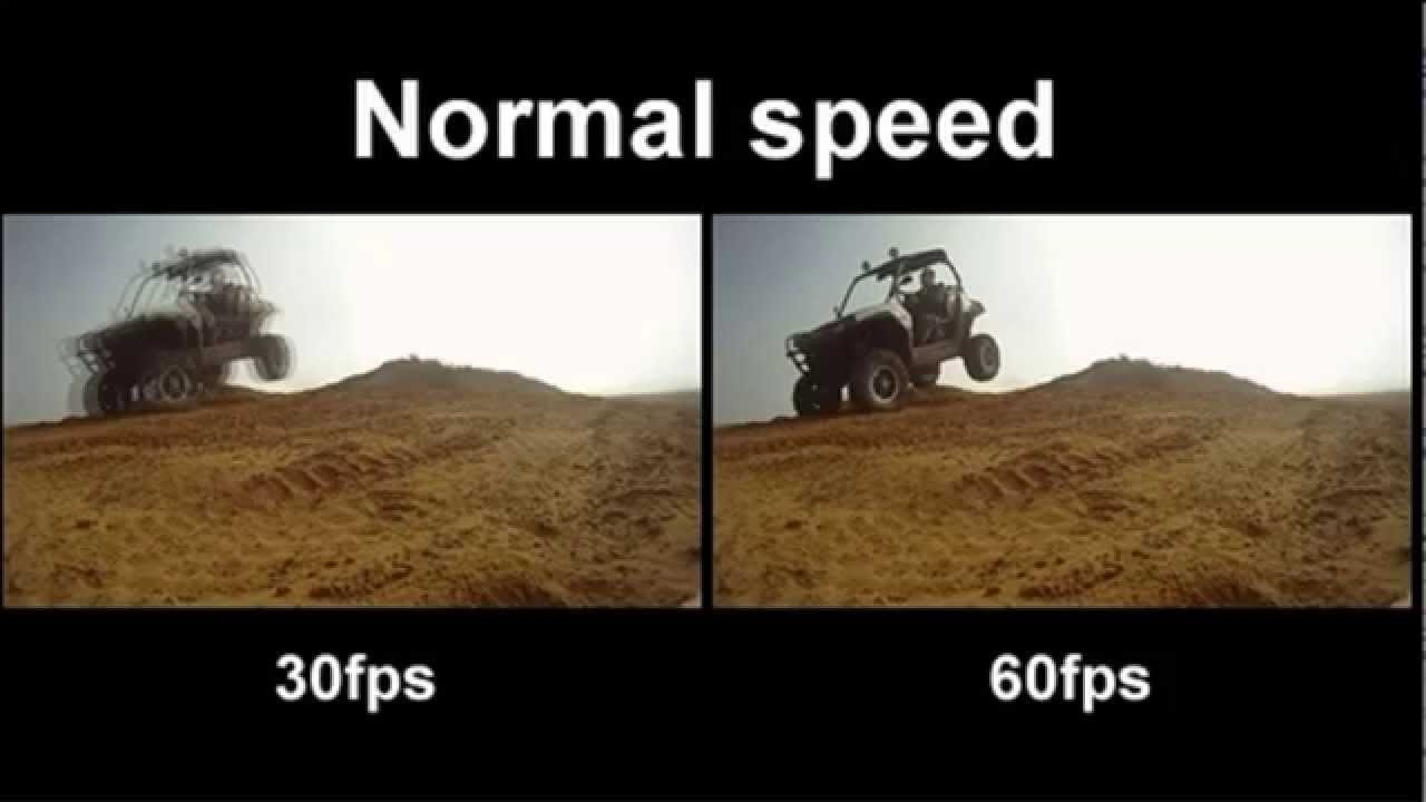 DIFERENCIA 30 FPS 60 FPS - YouTube