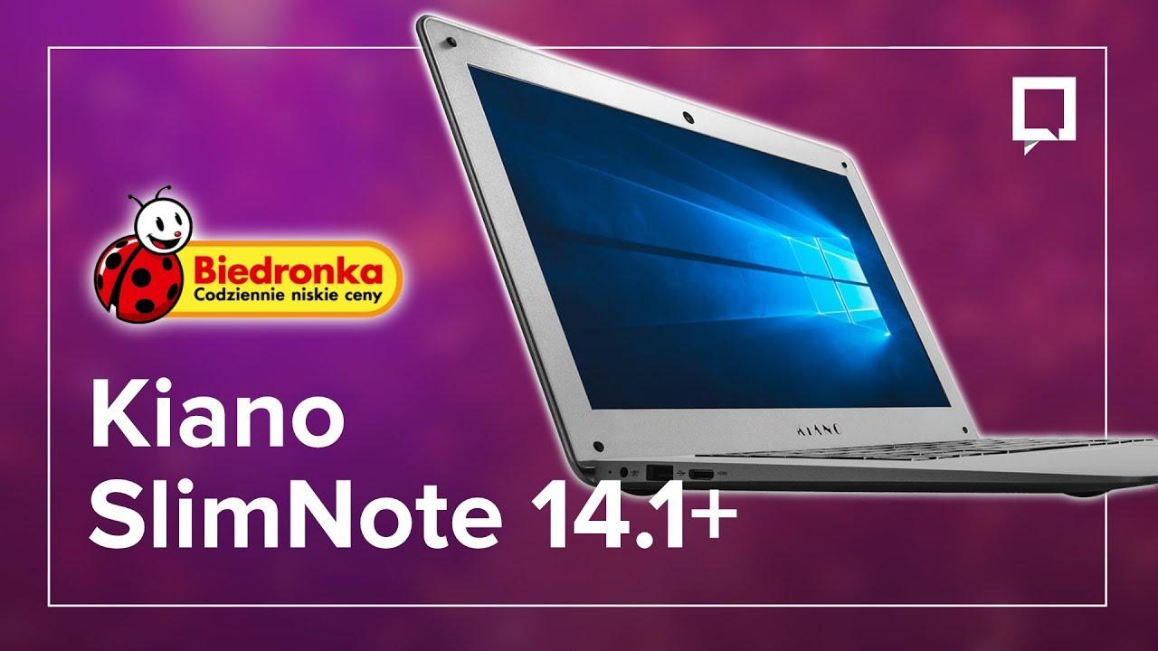 Laptop z Biedronki – sprawdzamy Kiano SlimNote 14.1+