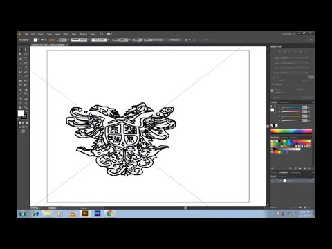How to Convert a JPG, PNG image to an editable Ai vector image