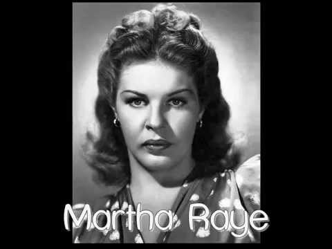 Movie Legends  Martha Raye
